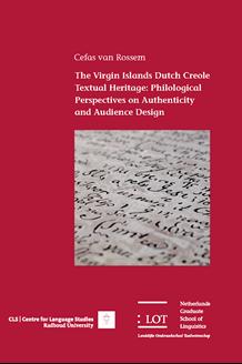 The Virgin Islands Dutch Creole Textual Heritage