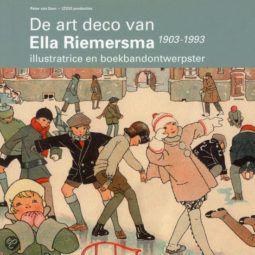De art deco van Ella Riemersma, 1903-1993, ilustratrice en boekbandontwerpster