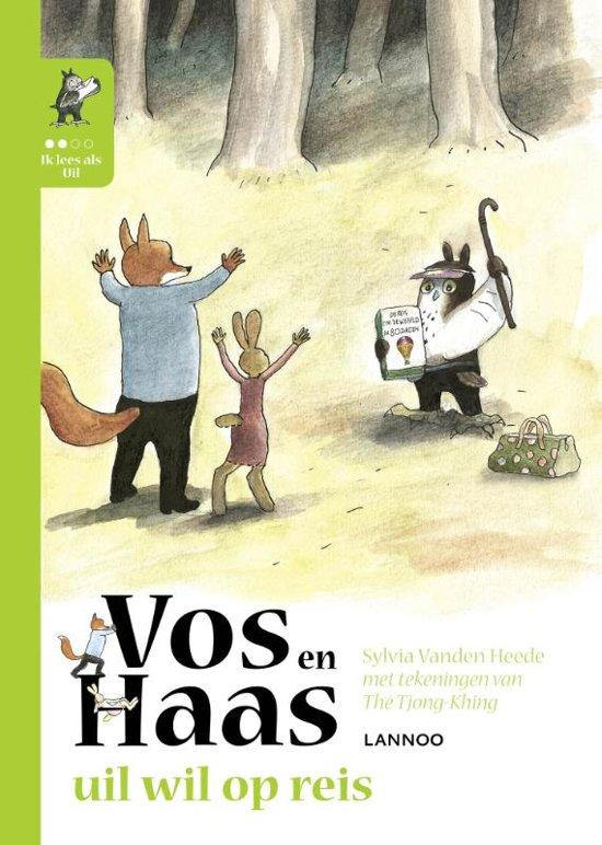 Vos en Haas – Uil wil op reis - De Leesclub van Alles