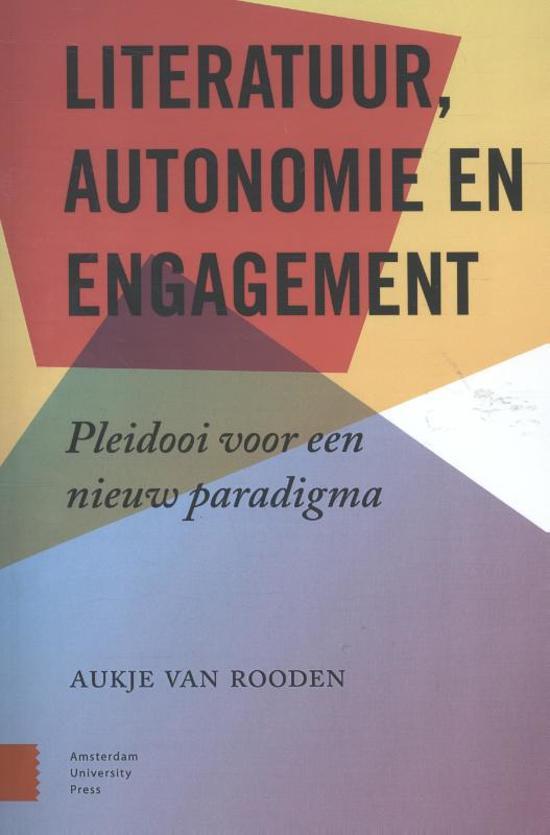 Literatuur, autonomie en engagement