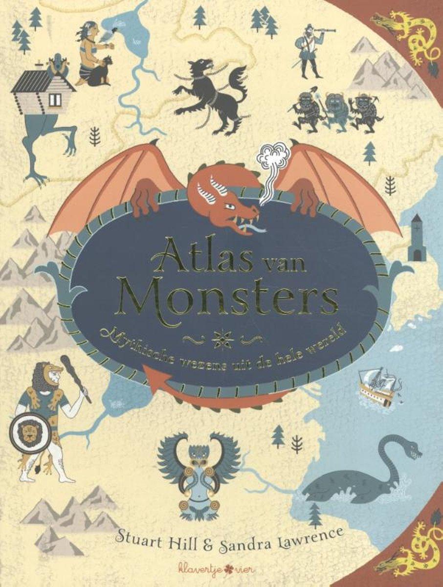 Atlas van monsters – mythische wezens uit de hele wereld - De Leesclub van Alles