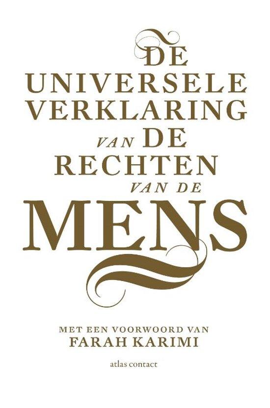 De Universele Verklaring van de Rechten van de Mens - De Leesclub van Alles