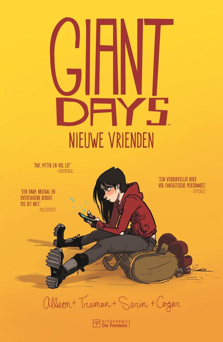 Giant Days 1: Nieuwe vrienden