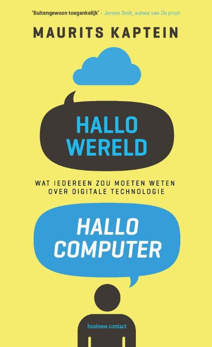 Hallo wereld. Hallo computer - De Leesclub van Alles