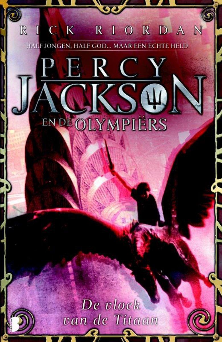 Percy Jackson en de Olympiërs 3 - De vloek van de titaan - De Leesclub van Alles