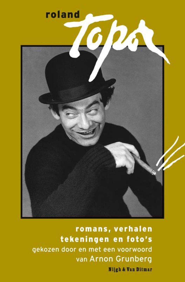 Roland Topor - romans, verhalen, tekeningen foto's