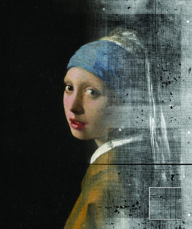 Using Weave Maps to Study Vermeer's Canvases - De Leesclub van Alles