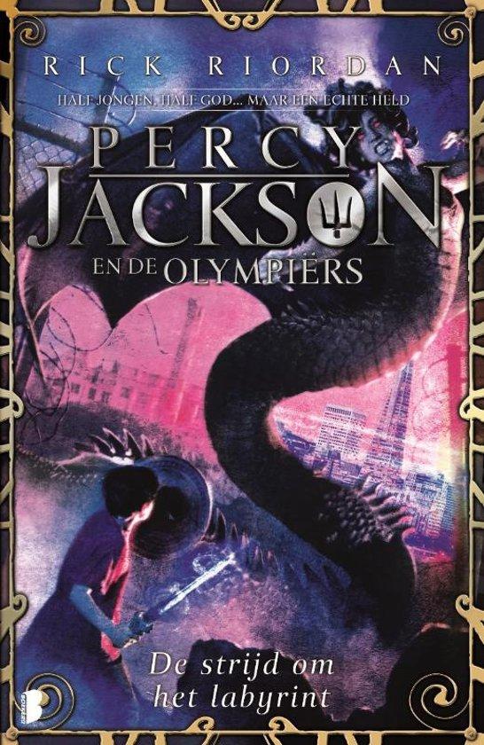 Percy Jackson en de Olympiërs 4 - De strijd om het labyrint - De Leesclub van Alles