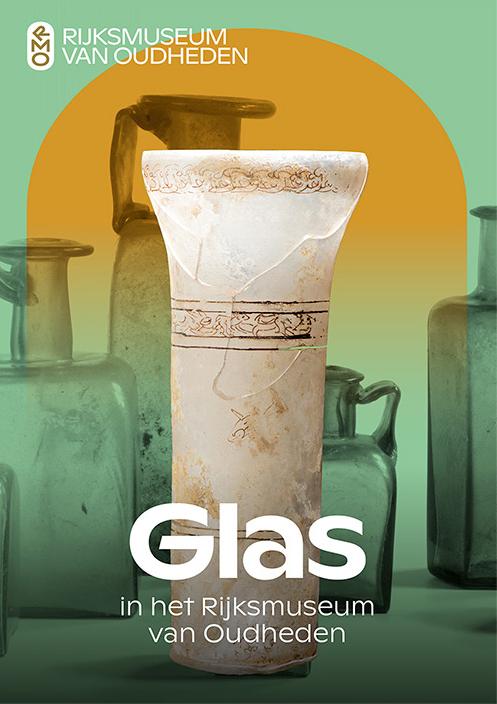 Glas in het Rijksmuseum van Oudheden