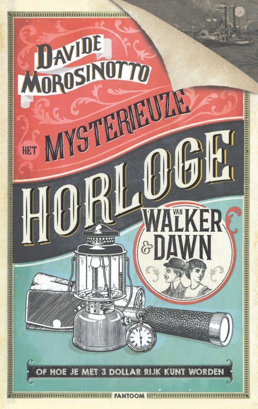 Het mysterieuze horloge van Walker & Dawn - De Leesclub van Alles