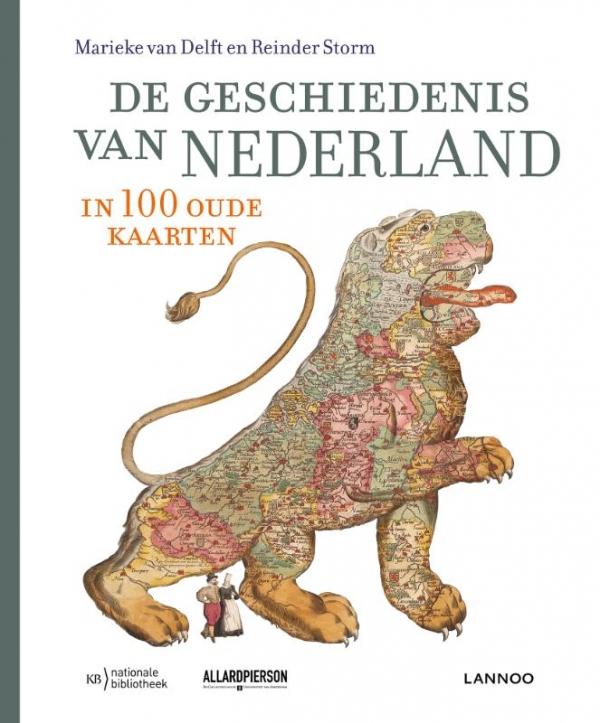 De geschiedenis van Nederland in 100 kaarten