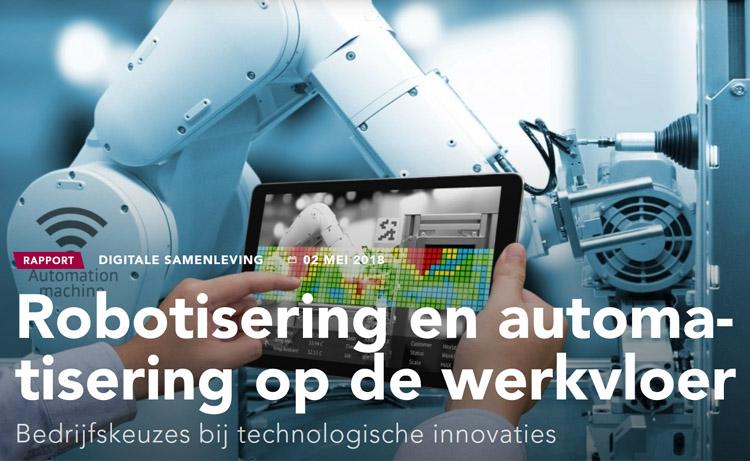 Robotisering op de Werkvloer