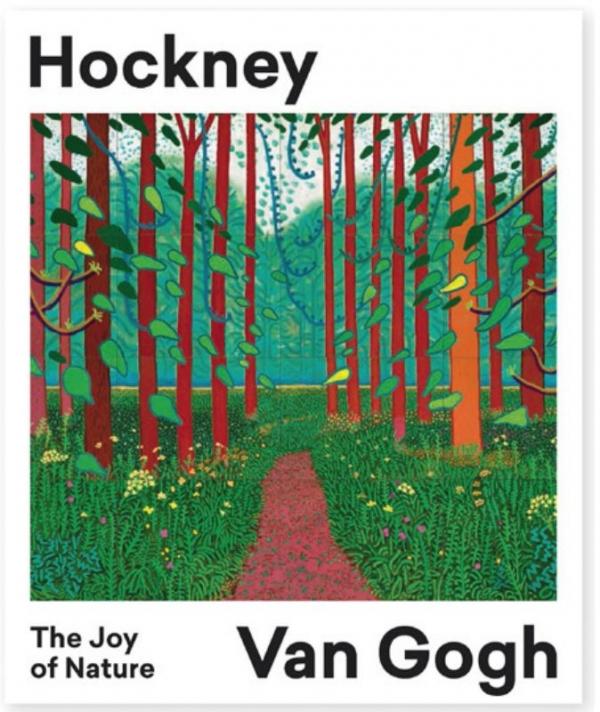 Hockney-Van Gogh. The Joy of Nature - De Leesclub van Alles