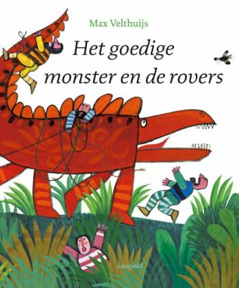 Het goedige monster en de rovers - De Leesclub van Alles