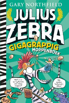 Julius Zebra Gigagrappig moppenboek