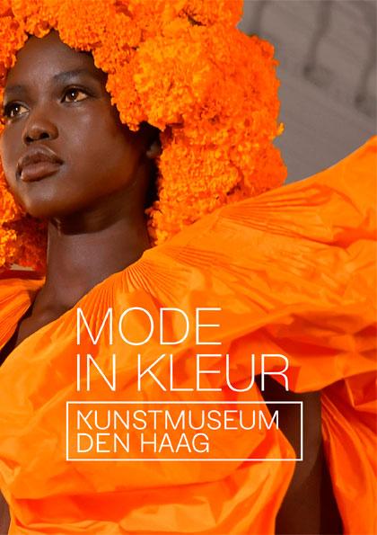 Kunstkaartenboek Mode in kleur